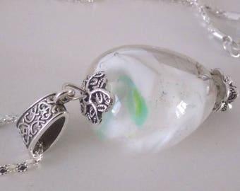 Creamy - Lampwork Glass pendant