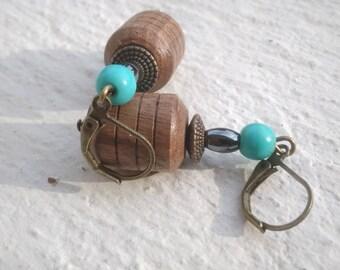 Earrings: Ash - Nature