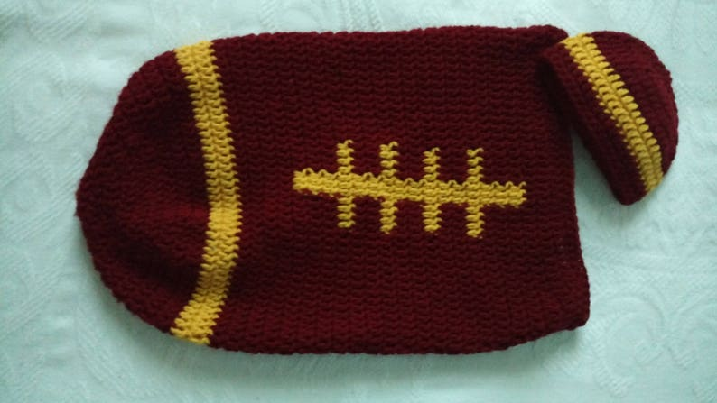 Football Baby PapooseCocoon