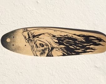 Skateboard cruise deck