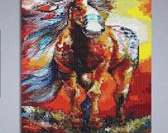 Butterfly Sequin Pixel Art Kit Do It Yourself Wall Art Etsy