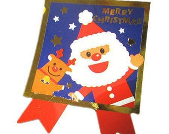 20 stickers, stickers, 45 * 35mm Christmas decor