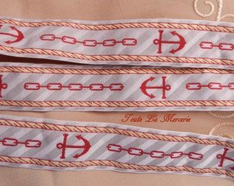 Ribbon-stripe sailor style