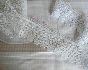 Beautiful guipure lace