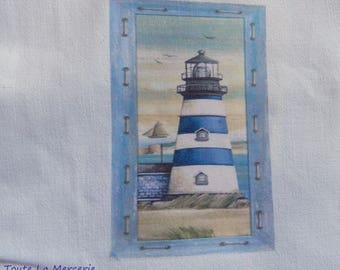 Transfer to the marine theme: the lighthouse