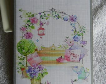 Very nice greeting card 'handmade' to personalize your gifts