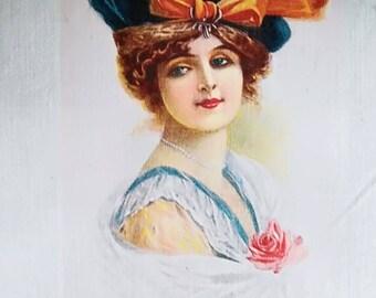 Transfer 0028. Orange girl bow Hat