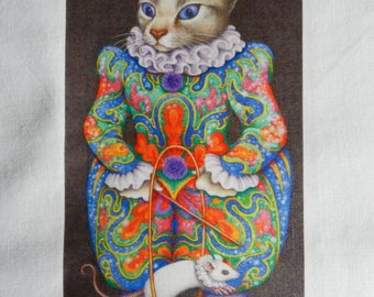 TRANSFER. Great transfer 212; original cat/clown suit