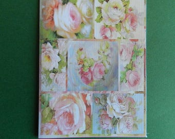 Nice greeting card for Christmas or: birthday, thank you, Valentine's day...