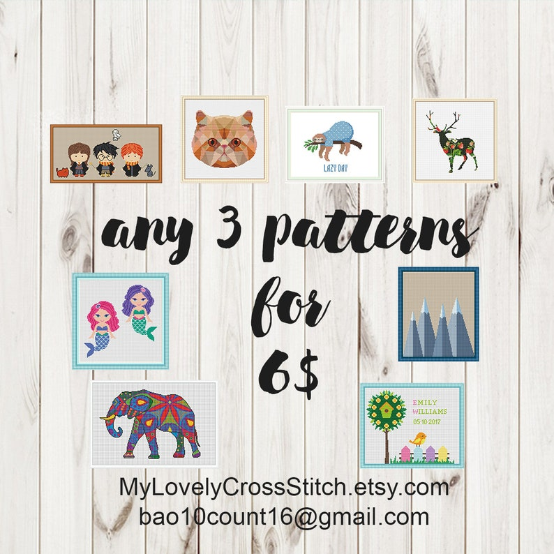 Funny Cross Stitch Trex Pattern Dinosaur Trex Family Easy Beginners Mini Modern Cute  Trex Cross Stitch Silhouette PDF pattern download