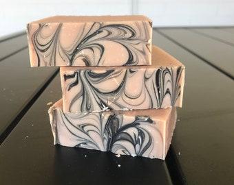 Black Raspberry and Vanilla Chai Soap / Cold Process Soap / Handmade Soap / Natural Soap / Bar Soap / Vegan Soap