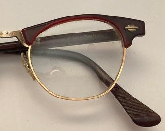 03b1c364c0a 1950s True Vintage Artcraft Tortoiseshell Eyeglass Frames