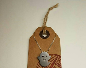 Silver Ghost Necklace