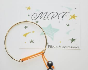 Bangle Bracelet gold idea gifts MOM, Dad, friends, friends, boyfriend, girlfriend, Grandma, teacher