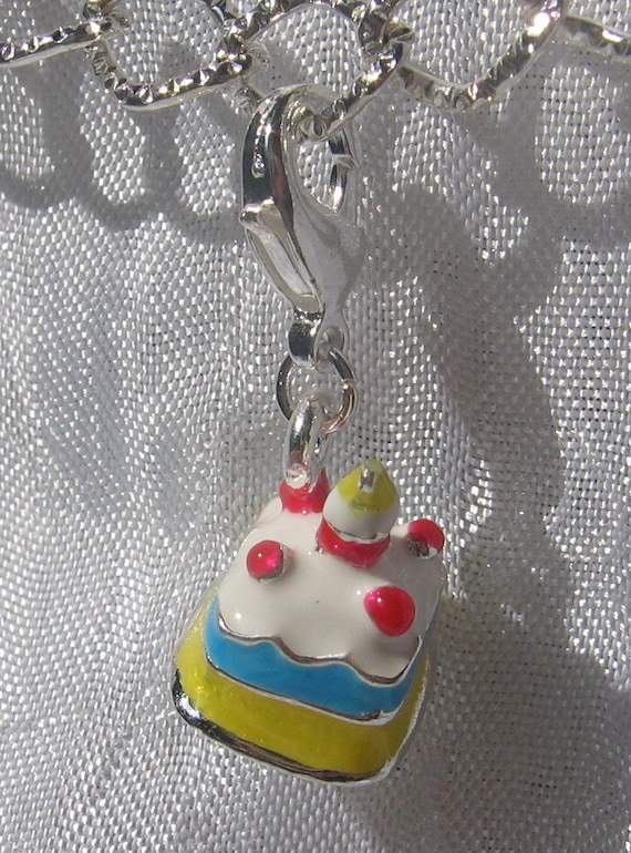 Vintage Cabochon Glass necklace Silver charm pendant(Happy Halloween)C194