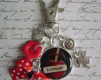 Love bag charm or keychain