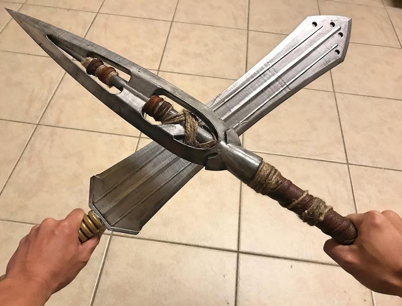 Killmonger Weapons |Black Panther