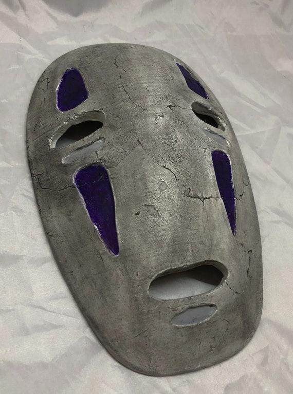 Spirited Away No Face Mask Miyazaki Cosplay Etsy