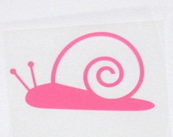 Small snail pattern in flex fusible pink cotton candy