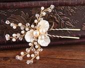 PIN wedding haircomb bridal hair fascinator