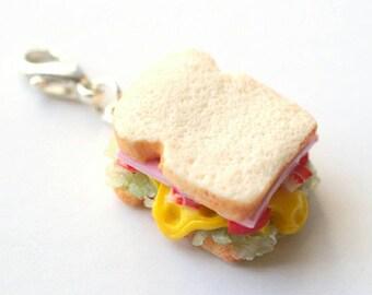 Charm - Mini sandwich, salad, cheese, tomatoes, ham and bread