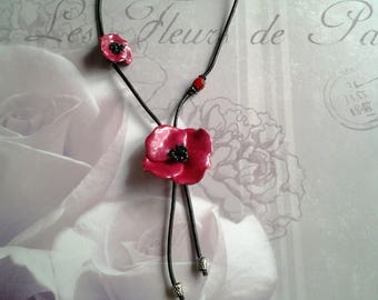 colletion and Ladybug pendant necklace