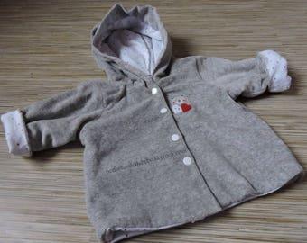 Baby hooded jacket