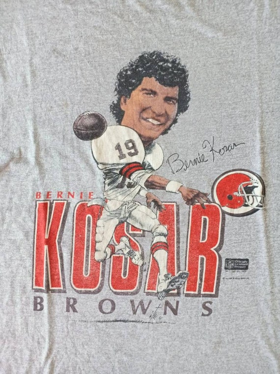 Vintage Bernie Kosar 80's t shirt salem sportswea… - image 3