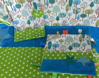 cover and woodland theme nursery set