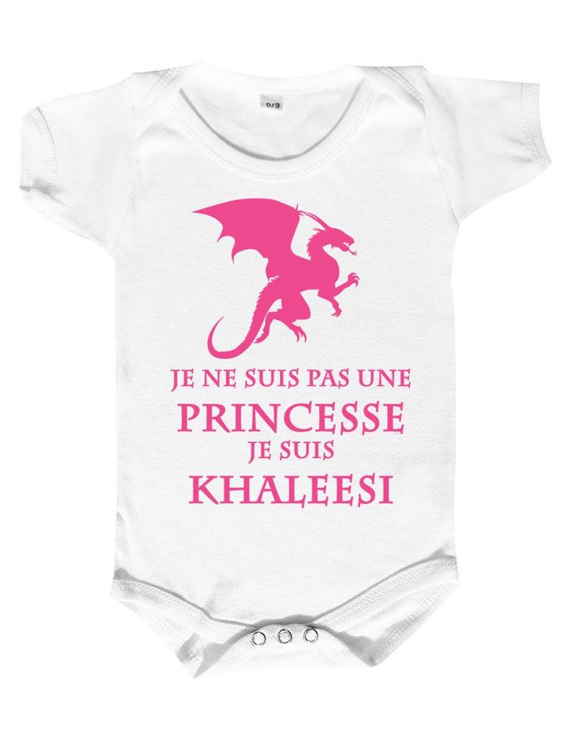 Body Bébé Princesse Khaleesi Body Bébé Humour Vêtement Bébé Etsy