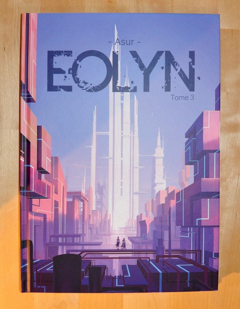EOLYN  Volume 3 Cardboard Cover Album 90 Color Boards image 0