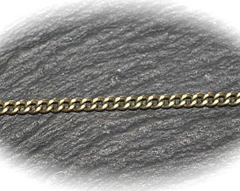 10 meters SOLDERED brass link chain twist CH103 2x2mm