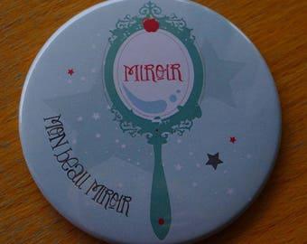 """Mirror mirror"" Pocket mirror - 75mm"