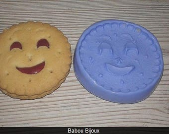 MOLD cookie smile 4cm