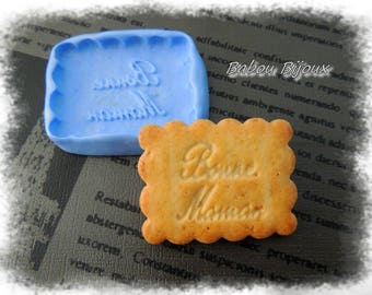 Mold for polymer clay large Bisque mother 5cm / 4cm