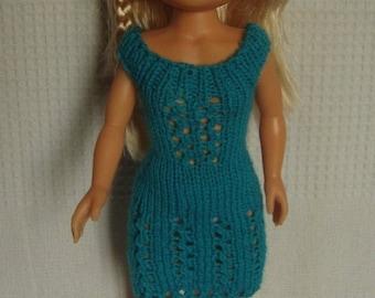 Nancy doll, 43 cm, turquoise dress clothing