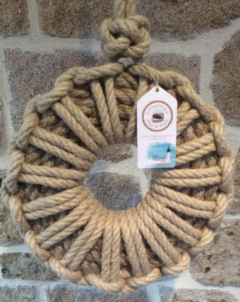 Wreaths  Decoration Navy  Marine  rope knots image 0