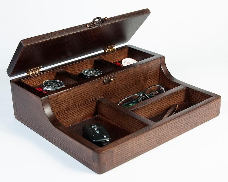 b1f85dea02 Mens jewellery box Hetch Wenge Custom Watch Box Men s