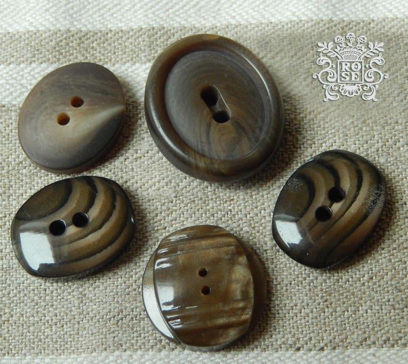 Sortiment f\u00fcr Retro Jacken 5 Tasten marmoriert Vintage