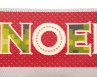 Washi tape 10 m x 1.5 cm red Christmas