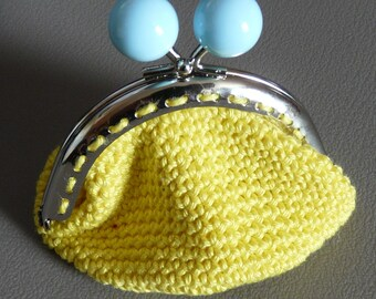 small coin purse crochet