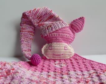 Cuddly plush cotton cow amigurumi Didi