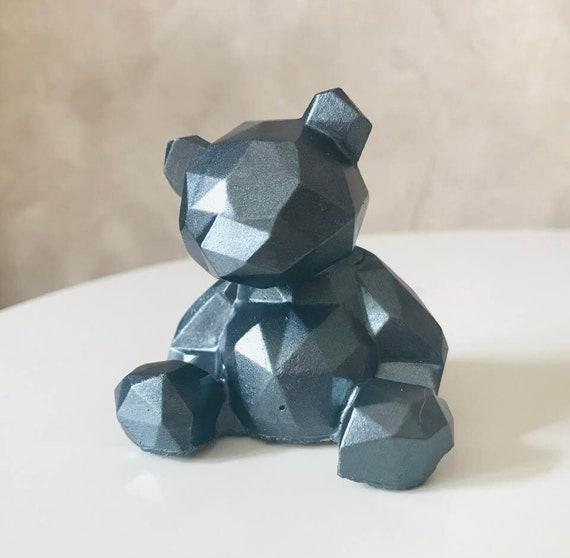 Nouveau Béton Ornement Grande Bear