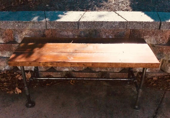 Fine Metal And Wood Bench Small Coffee Table Rustic Farmhouse Table Entry Bench Machost Co Dining Chair Design Ideas Machostcouk