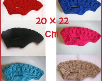 Coat / sweater for very small dog back 20cm - 20 x 22 cm