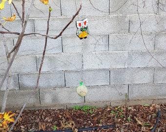 Bird feeder - OWL mosaic