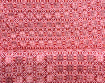 Liberty Art Fabrics Lifestyle Charles Red fabric