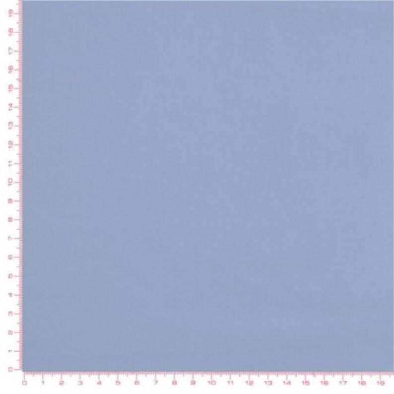 Plain dark sky blue 100% cotton fabric