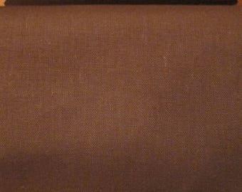 Chestnut brown 100% cotton fabric