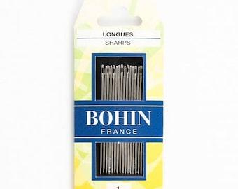 Long N 1 pins France sewing needles
